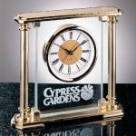 Glass Mantel Clock Boss Gift Awards