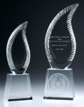 Harmony Flame Crystal Award Fire and Safety Awards
