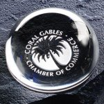 Magnifier Paper Weight Paper Weight Crystal Awards