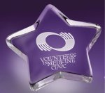 Star Paper Weight Paper Weight Crystal Awards