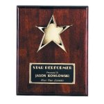 Star Plaque Sales Awards